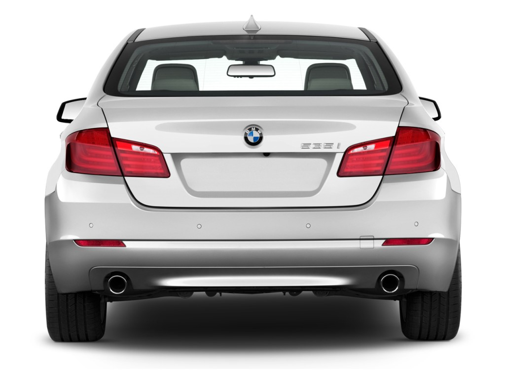 Image 2012 Bmw 5 Series 4 Door Sedan 535i Rwd Rear