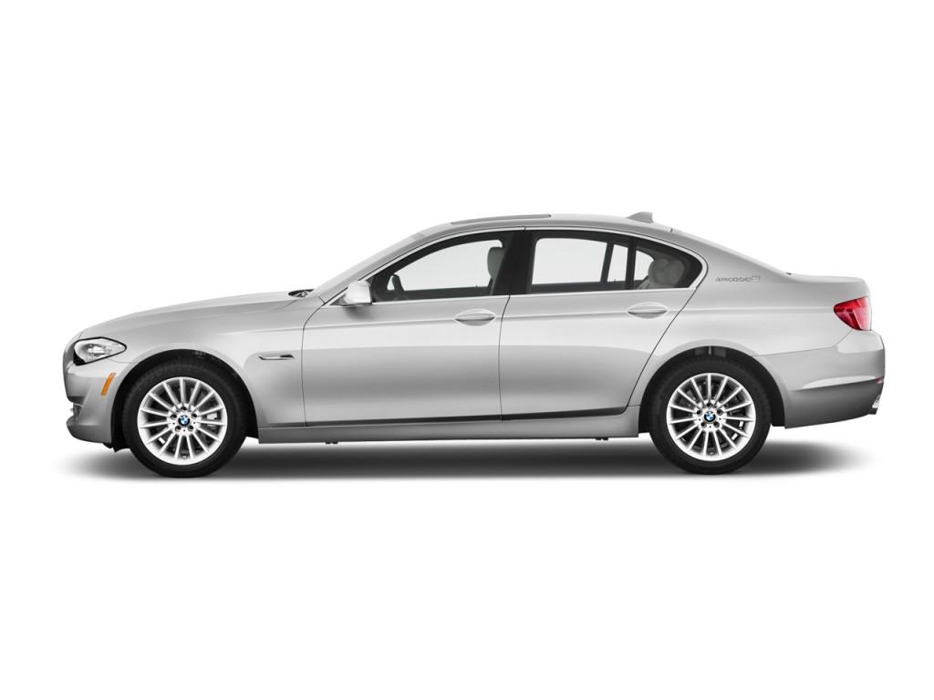 image 2012 bmw 5 series 4 door sedan activehybrid 5 rwd side exterior view size 1024 x 768. Black Bedroom Furniture Sets. Home Design Ideas