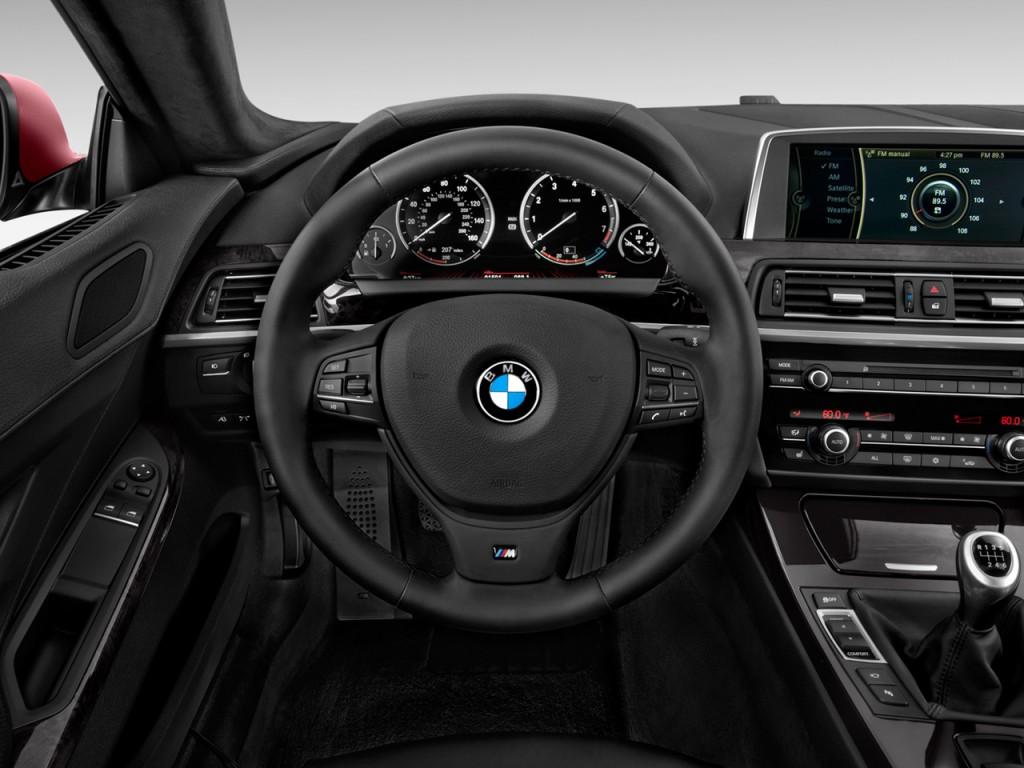 Image 2012 Bmw 6 Series 2 Door Coupe 640i Steering Wheel