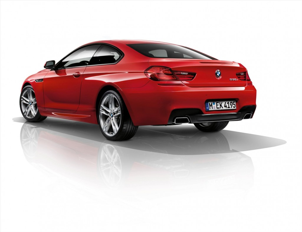2012 BMW 6-Series Coupe with M Sport package