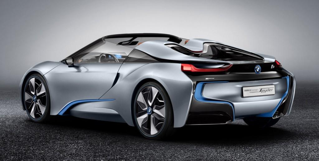 2012 BMW i8 Concept Spyder