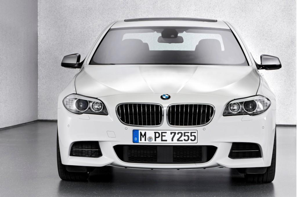 2012 BMW M Performance M550d Sedan