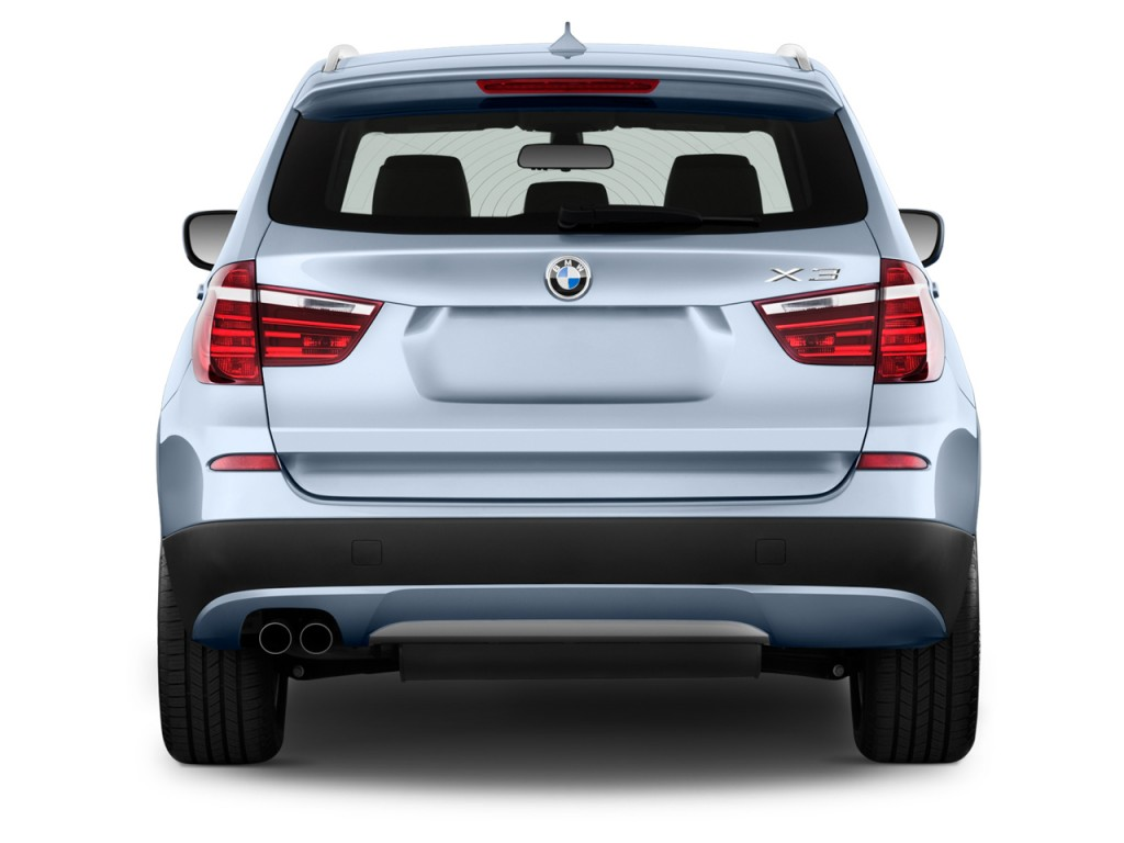 Image 2012 Bmw X3 Awd 4 Door 28i Rear Exterior View Size