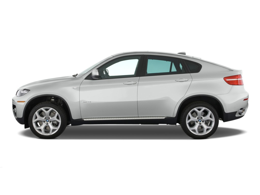Image 2012 Bmw X6 Awd 4 Door 35i Side Exterior View Size