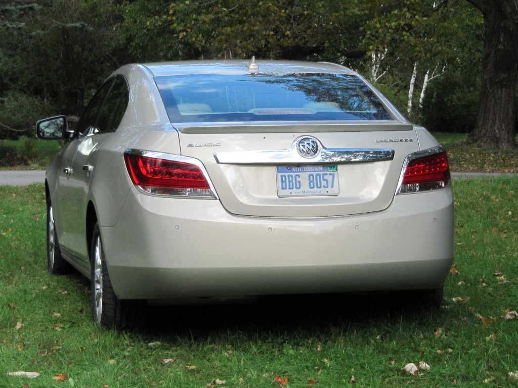 Image: 2012 Buick Lacrosse with eAssist, Catskill ...