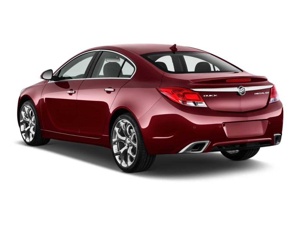 Image 2012 Buick Regal 4 Door Sedan Gs Angular Rear