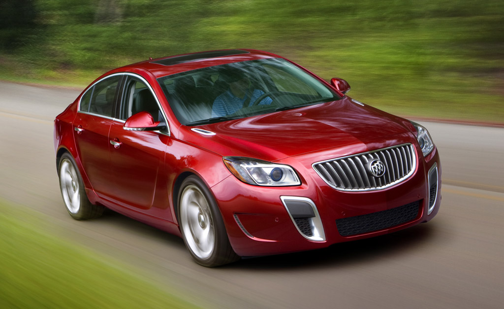 2012 Buick Regal GS and Regal eAssist Priced