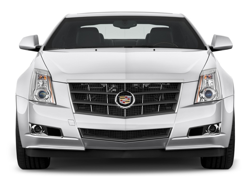 Cadillac Cts Door Coupe Premium Rwd Front Exterior View L