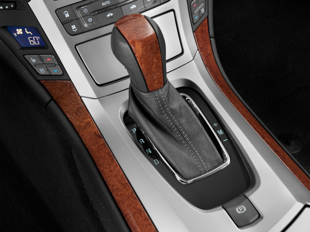2012 Cadillac CTS Models Lose Shift-It-Yourself Option
