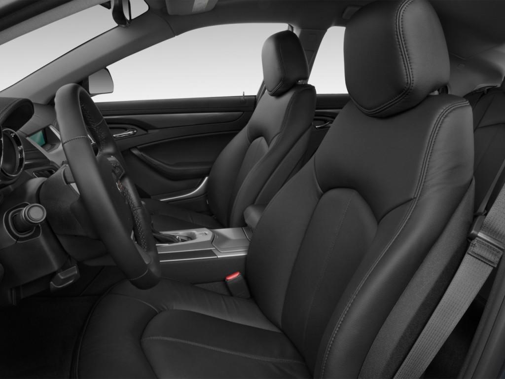 Image: 2012 Cadillac CTS 4-door Sedan 3.0L RWD Front Seats ...