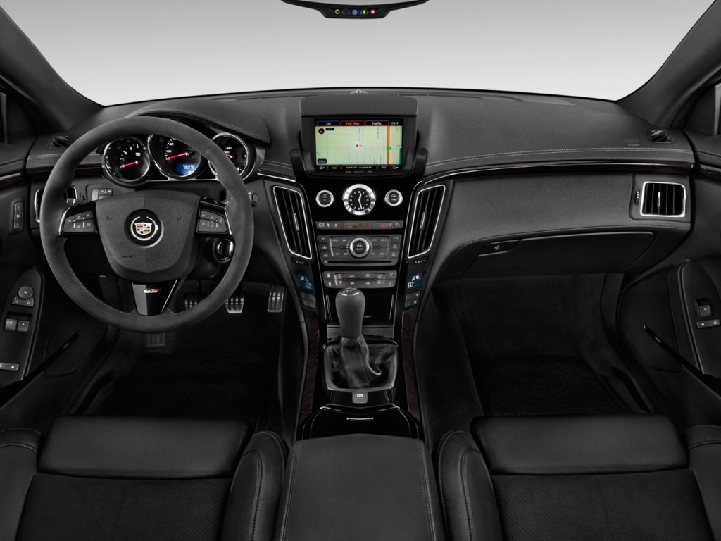 Image 2012 Cadillac Cts V Coupe 2 Door Coupe Dashboard