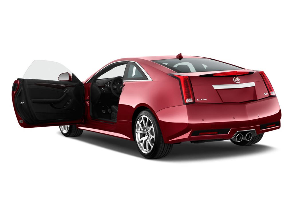 Image 2012 Cadillac Cts V Coupe 2 Door Coupe Open Doors