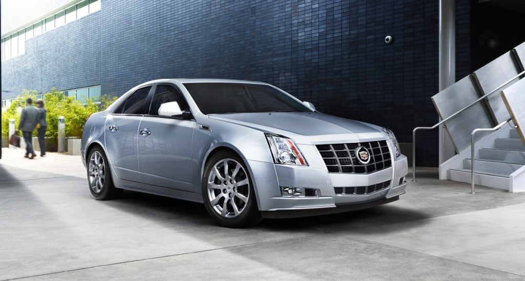 2012 Cadillac CTS Tops List Of 10 Best American Cars: Total Car Score