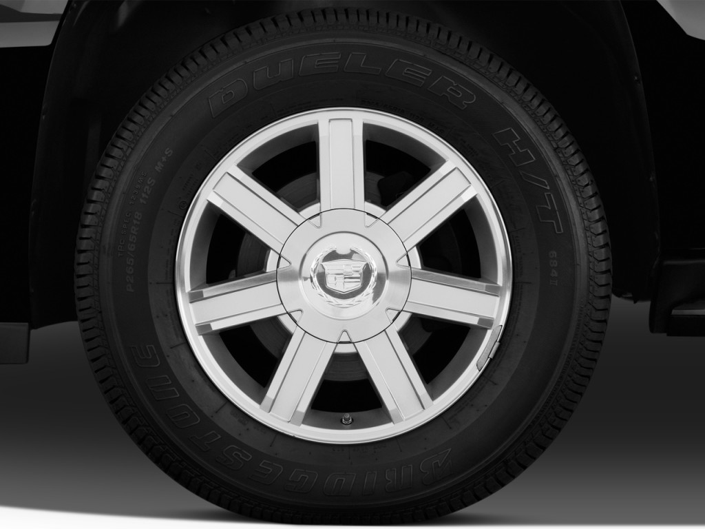 Image: 2012 Cadillac Escalade EXT AWD 4-door Base Wheel ...