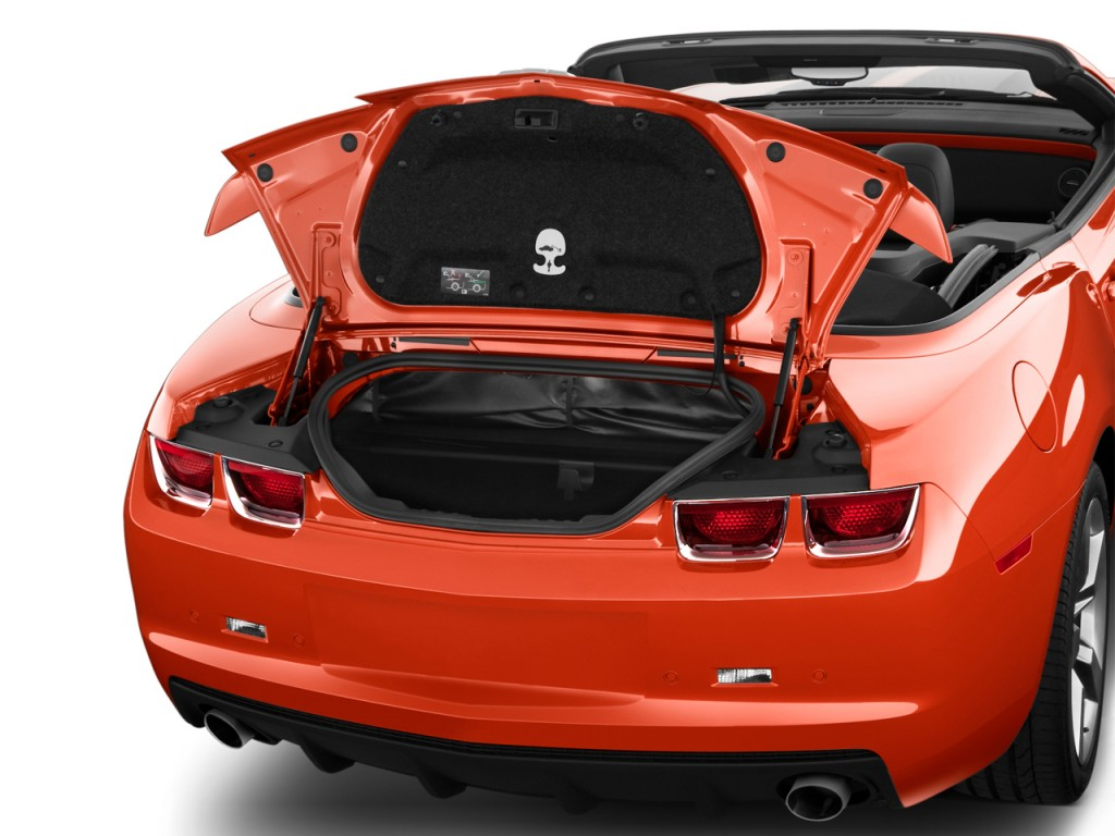 Image: 2012 Chevrolet Camaro 2-door Convertible 2SS Trunk, size: 1024 x 768, type: gif, posted ...
