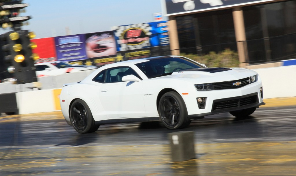 2012 Chevrolet Camaro ZL1 first drive