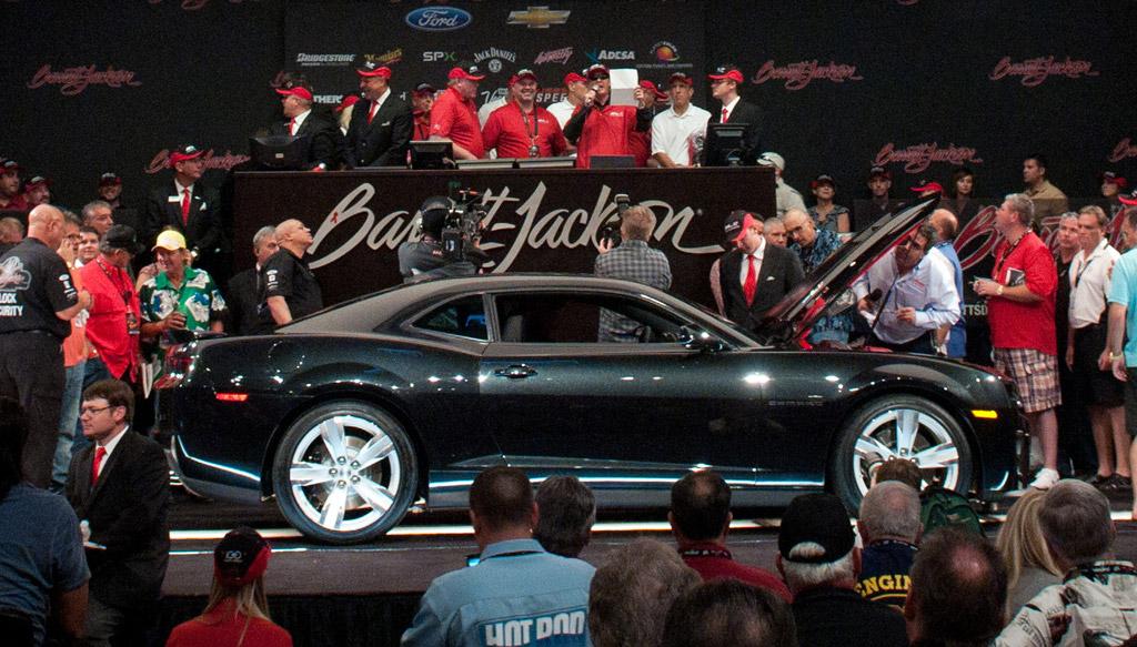 BarrettJackson Auctions First Chevrolet Camaro ZL For - Barrett jackson car show las vegas