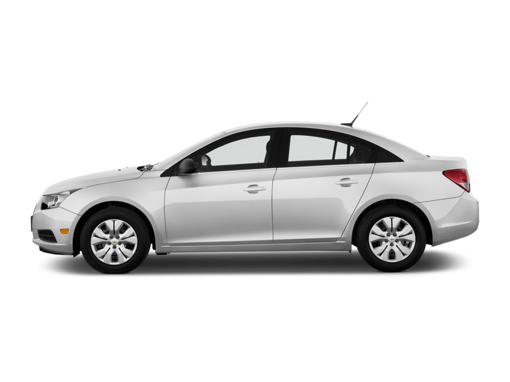 Image 2012 Chevrolet Cruze 4 Door Sedan Ls Side Exterior