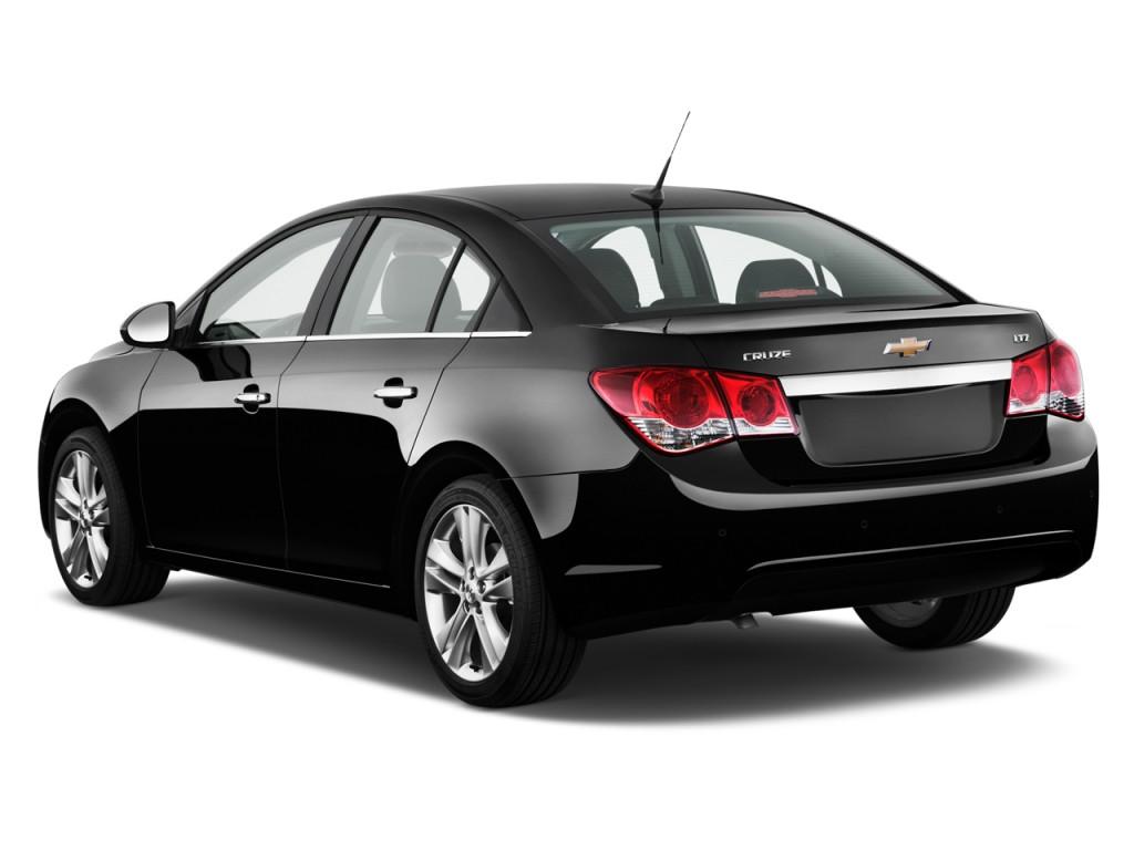 Used Chevy Traverse >> Image: 2012 Chevrolet Cruze 4-door Sedan LTZ Angular Rear Exterior View, size: 1024 x 768, type ...