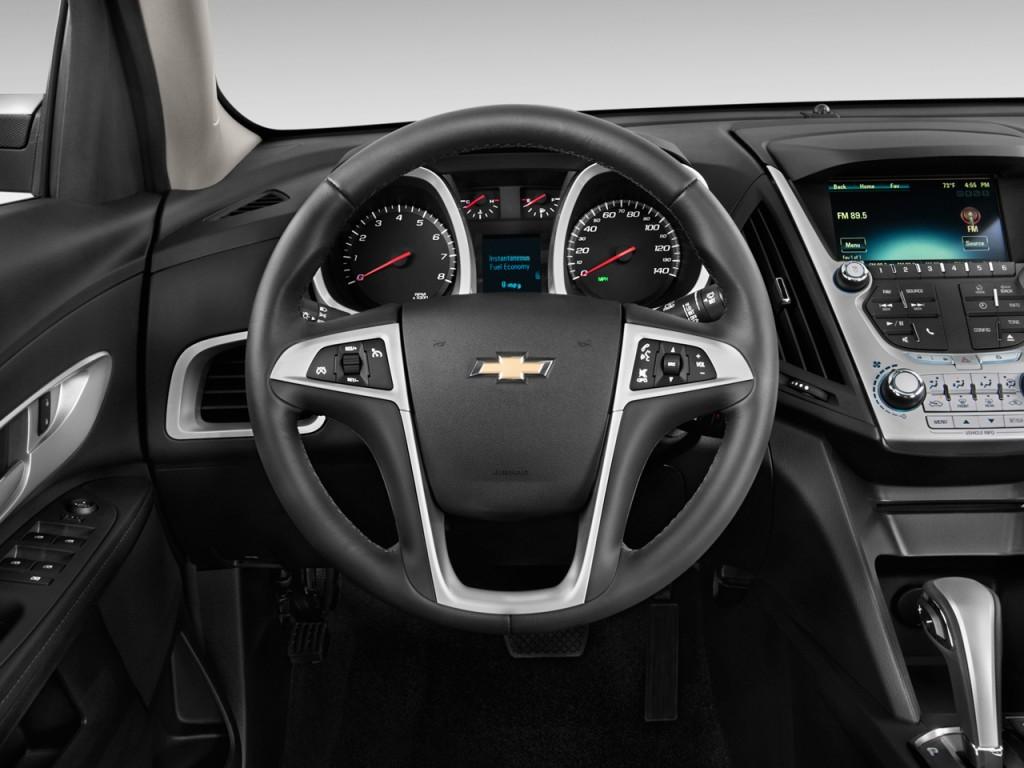 Image: 2012 Chevrolet Equinox FWD 4-door LT w/1LT Steering ...