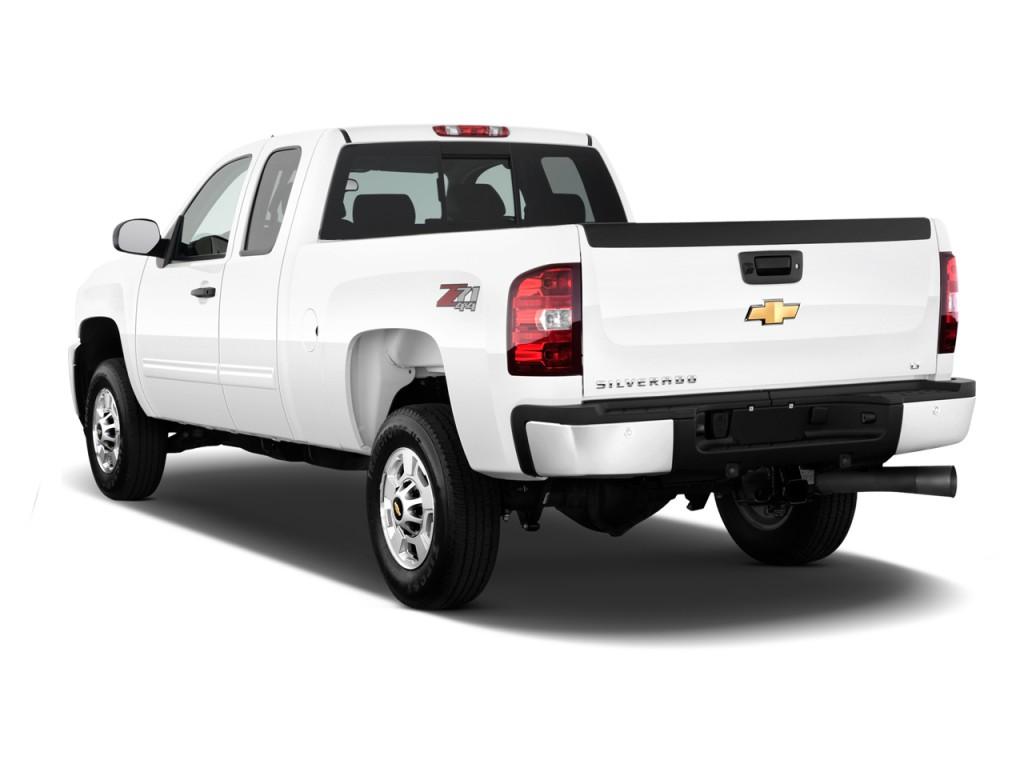 Image: 2012 Chevrolet Silverado 2500HD 2WD Ext Cab 144.2 ...