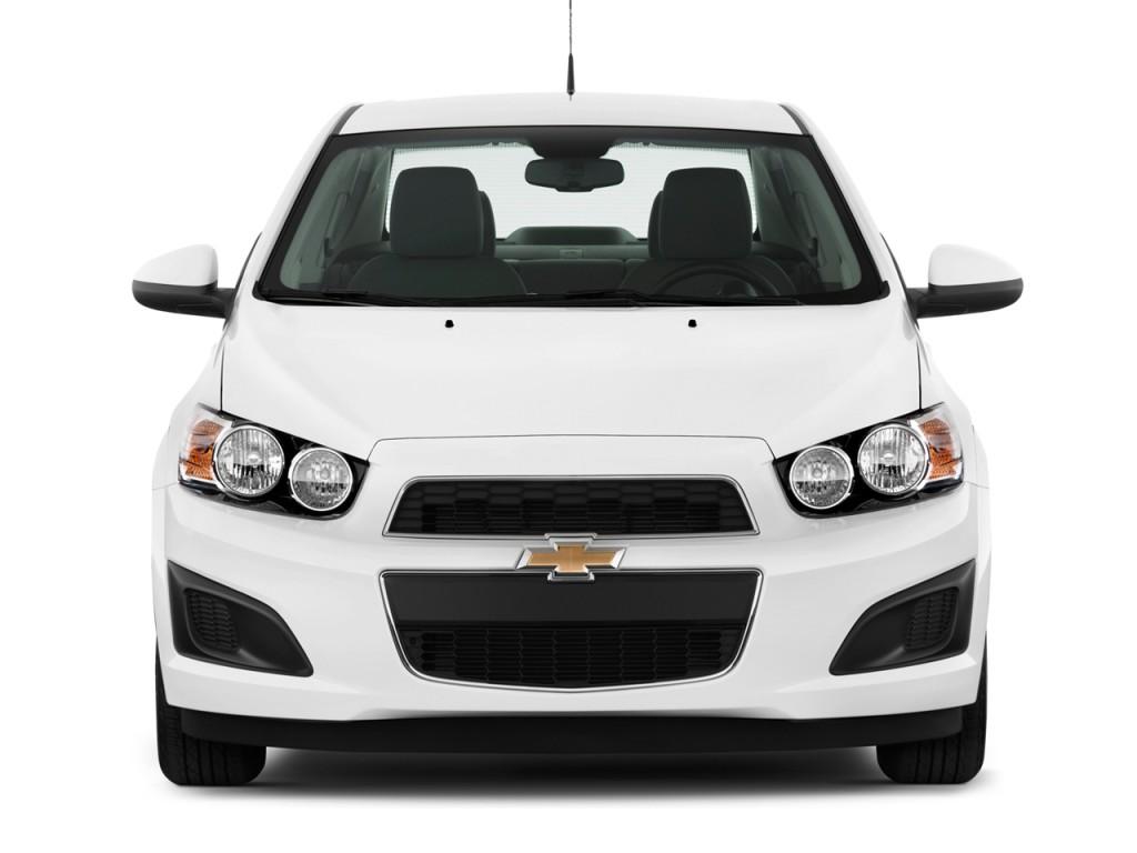 Image 2012 Chevrolet Sonic 4 Door Sedan 1lt Front