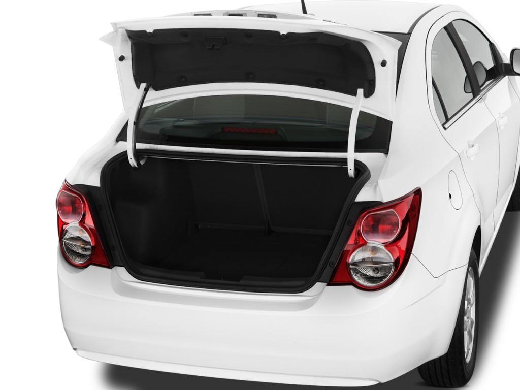 2012 Chevrolet Sonic 4-door Sedan 1LT Trunk