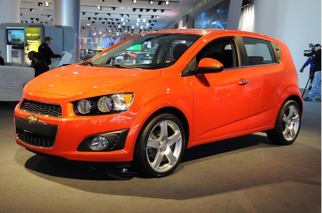 2012 Chevrolet Sonic Being Given Away In 27 Cities On Scvngr