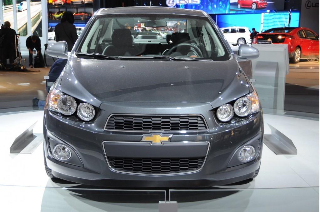 2012 Chevrolet Sonic. Photo by Joe Nuxoll