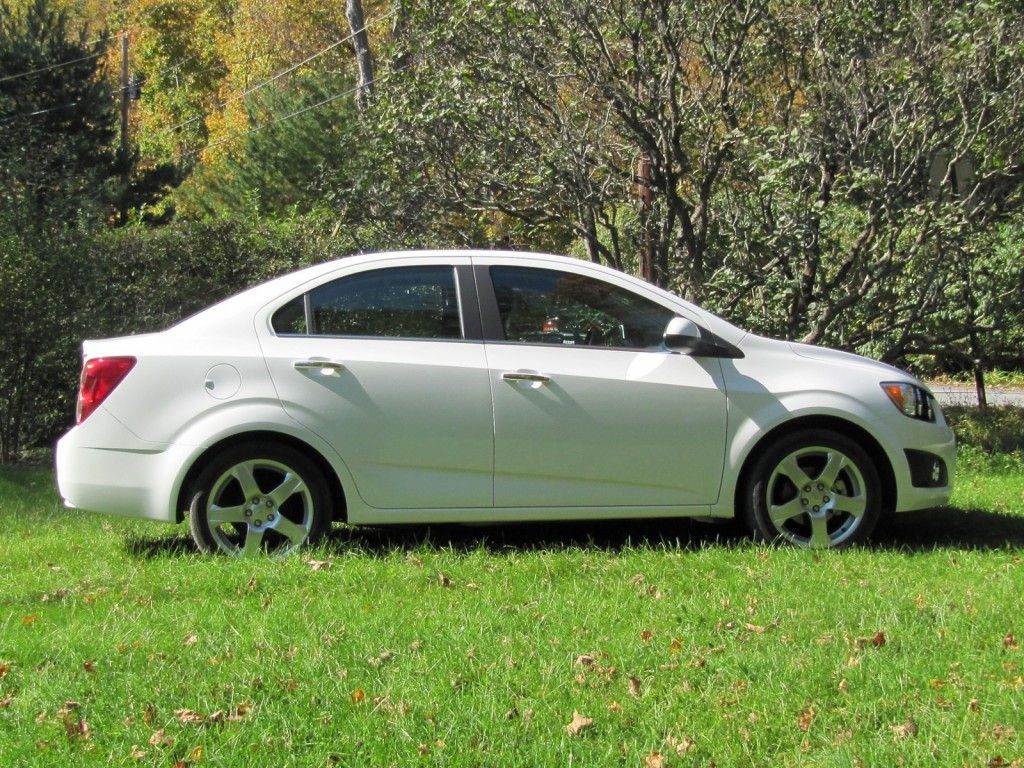 2012 Chevrolet Sonic, road test, Catskills Mountains, October 2011
