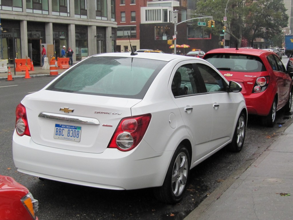 2012 Chevrolet Sonic, New York City launch event, October 2011