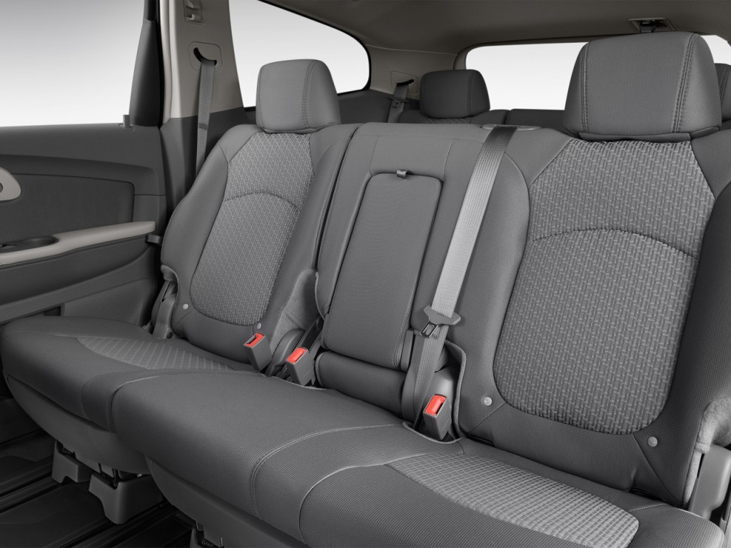 Image: 2012 Chevrolet Traverse FWD 4-door LS Rear Seats, size: 1024 x 768, type: gif, posted on ...