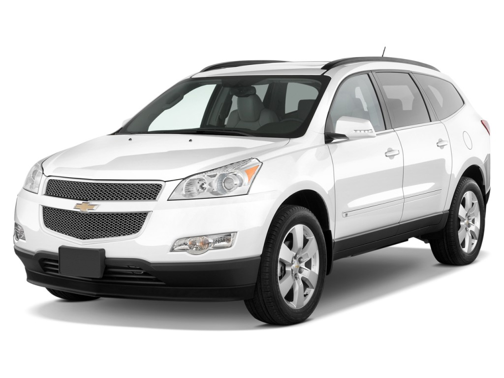 image 2012 chevrolet traverse fwd 4 door ltz angular front exterior view size 1024 x 768. Black Bedroom Furniture Sets. Home Design Ideas