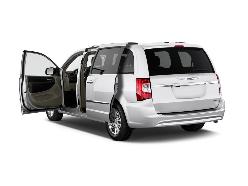 2012 Chrysler Town & Country 4-door Wagon Limited Open Doors
