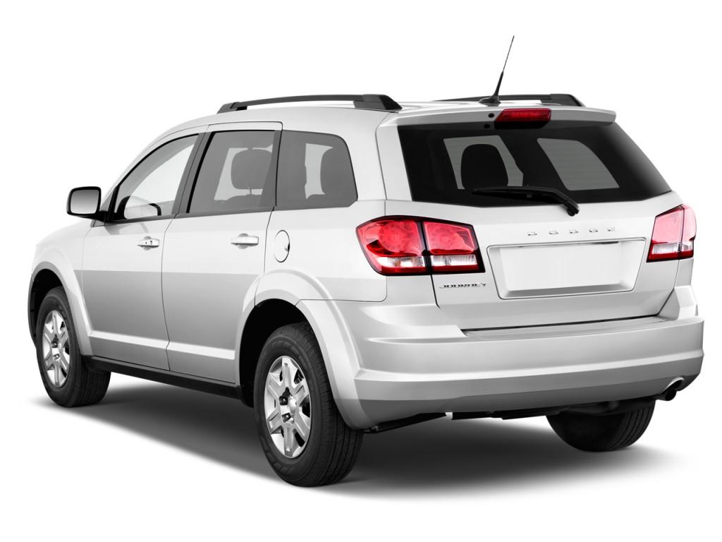 2012 Dodge Journey FWD 4-door SXT Angular Rear Exterior View