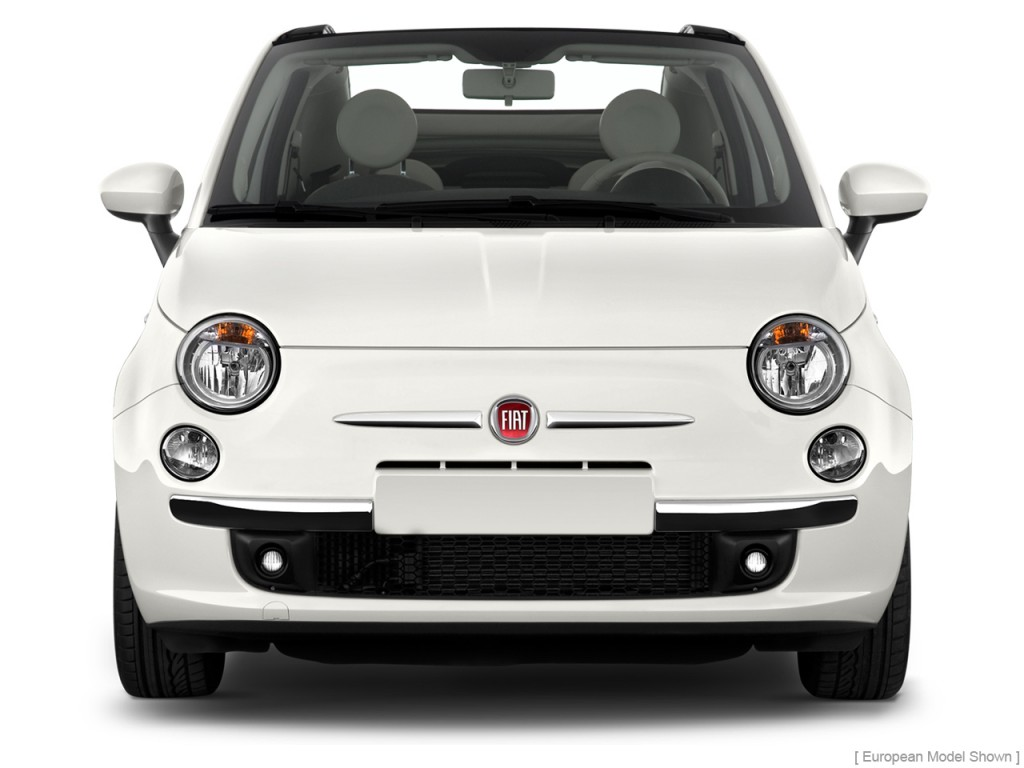 image 2012 fiat 500 2 door convertible lounge front exterior view size 1024 x 768 type gif. Black Bedroom Furniture Sets. Home Design Ideas