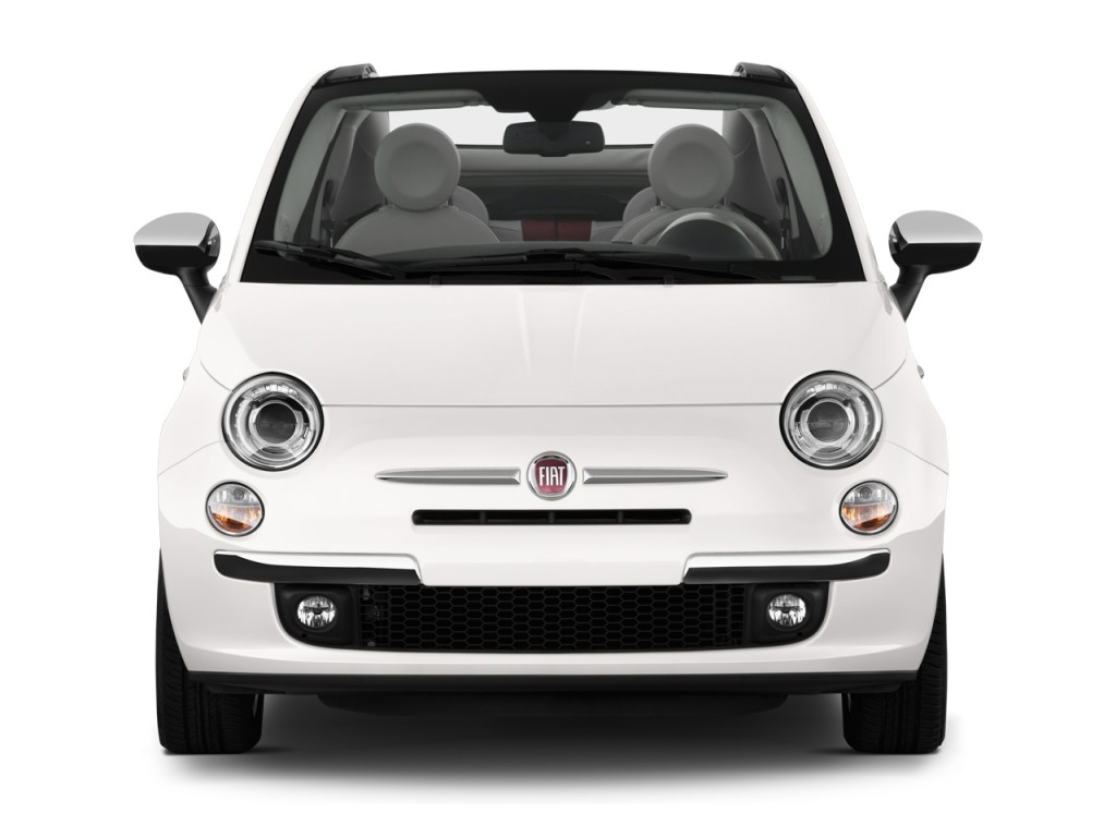 image 2012 fiat 500 2 door convertible lounge front. Black Bedroom Furniture Sets. Home Design Ideas