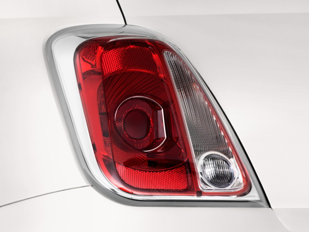 image 2012 fiat 500 2 door convertible lounge tail light. Black Bedroom Furniture Sets. Home Design Ideas