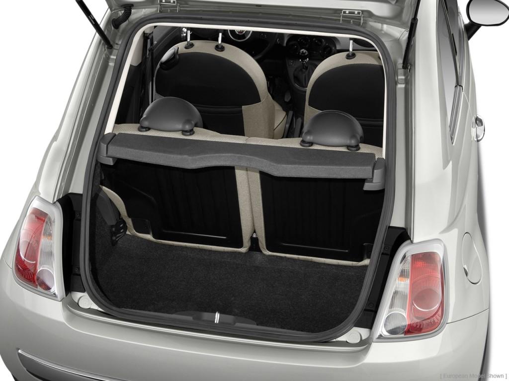 Image 2012 Fiat 500 2 Door Hb Lounge Trunk Size 1024 X