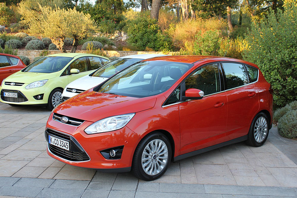 First Drive: The Ford C-Max We Don't Get (Probably)