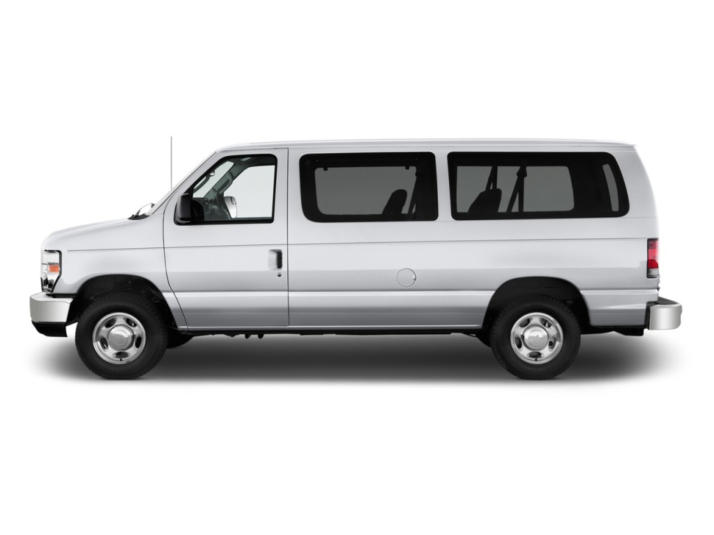 Ford Transit Passenger Van >> Image: 2012 Ford Econoline Wagon E-150 XLT Side Exterior View, size: 1024 x 768, type: gif ...