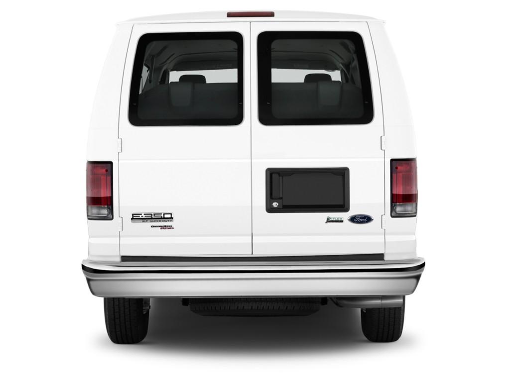 Image 2012 Ford Econoline Wagon E 350 Super Duty Xl Rear