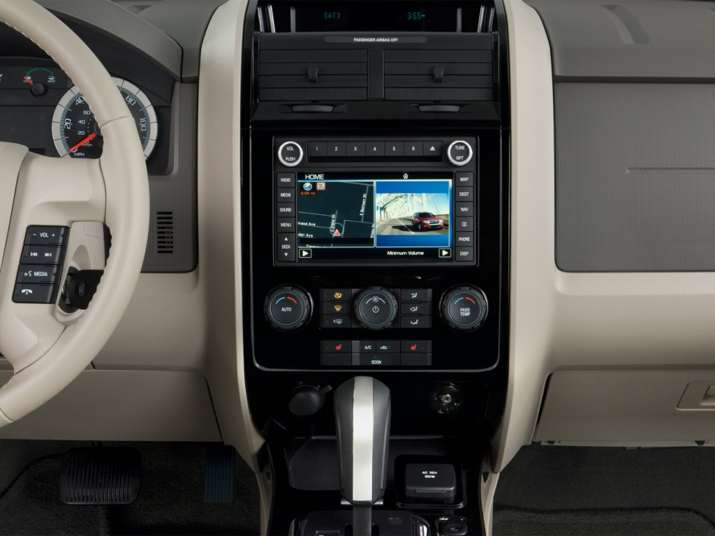 image  ford escape wd  door hybrid limited instrument panel size    type gif