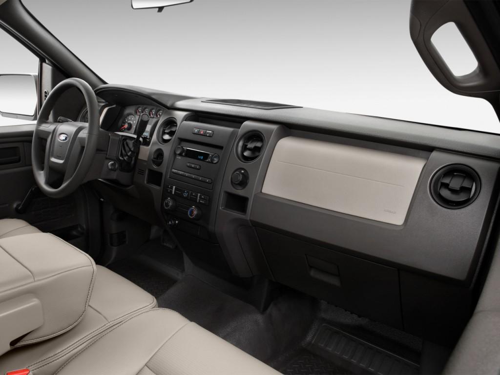 """Image: 2012 Ford F-150 2WD Reg Cab 126"""" XL Dashboard, size ..."""