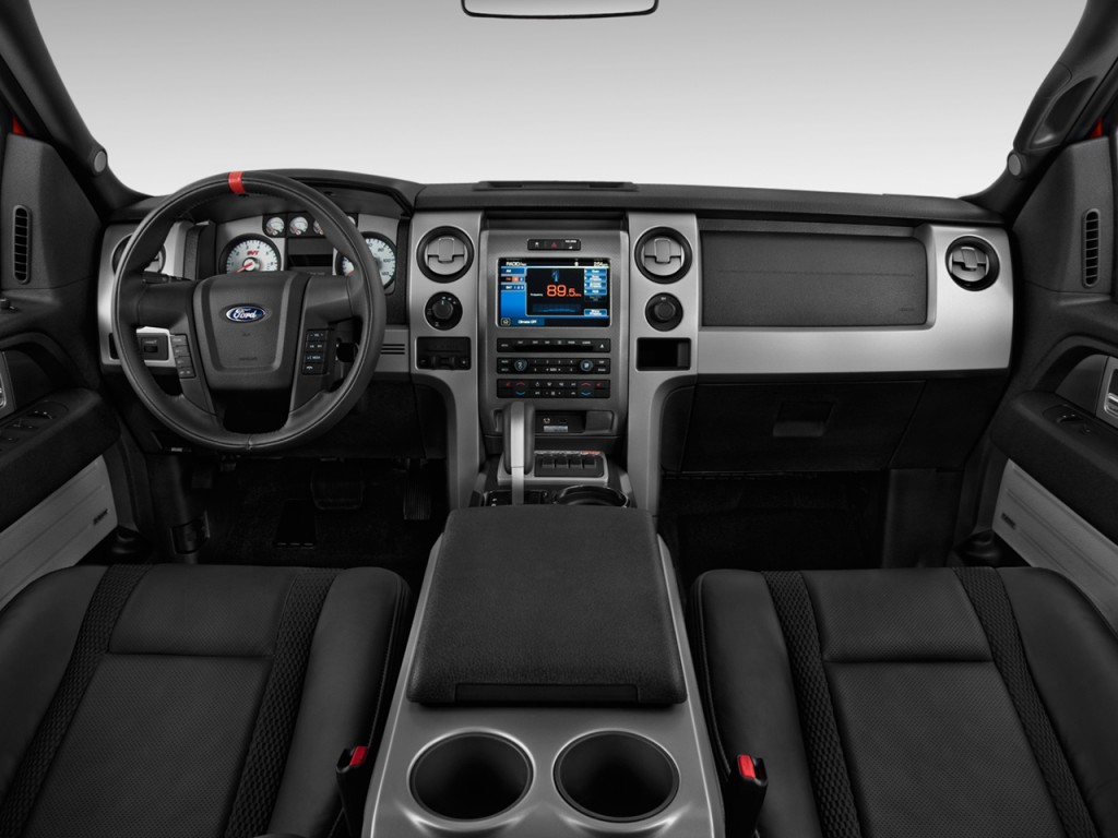 "Image: 2012 Ford F-150 4WD SuperCab 133"" SVT Raptor Dashboard, size: 1024 x 768, type: gif ..."