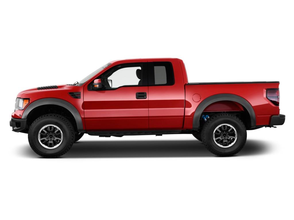 """Image: 2012 Ford F-150 4WD SuperCab 133"""" SVT Raptor Side ..."""