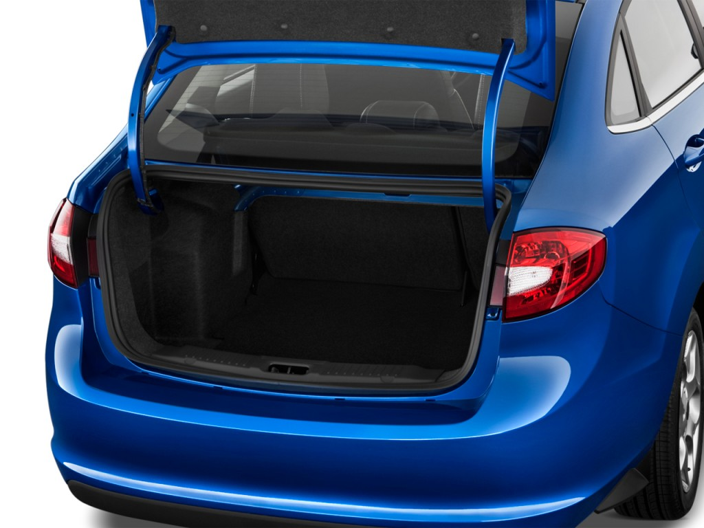 Ford Transit Passenger Van >> Image: 2012 Ford Fiesta 4-door Sedan SEL Trunk, size: 1024 x 768, type: gif, posted on ...
