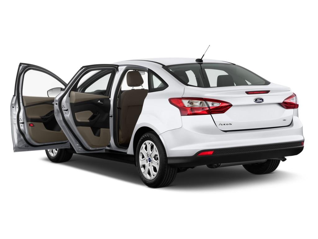 Image 2012 Ford Focus 4 Door Sedan Se Open Doors Size