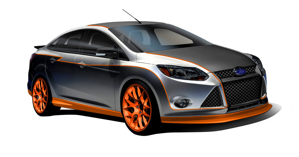 Ford Previews 2011 SEMA Customized Focus And Fiesta Lineup