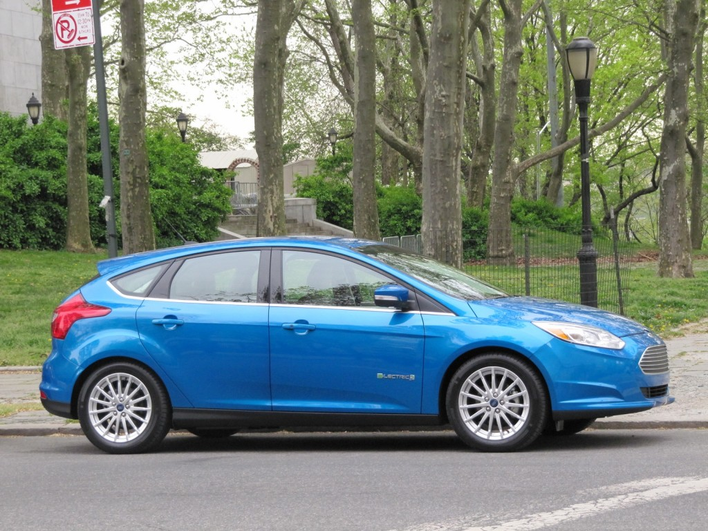 2012 Ford Focus Electric, New York City, April 2012